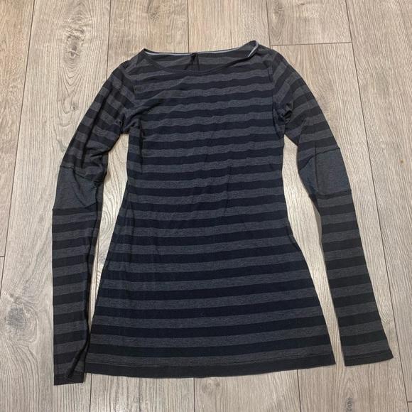 Lululemon Striped long sleeve shirt